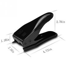 Universal Double Dual 2 in 1 Nano Micro SIM Card Cutter Cutting For iPhone 4 4s 5 6 For Nokia For Samsung Cell Phone(China)