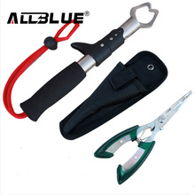 Free Shipping Stainless Steel - Portable Control Fish Fin Lure Plier  Hook Lure Set Control Fish Set Fishing Tackle