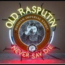 Old Rasputin Never Say Die Neon Sign Neon Bulbs Led Signs Real Glass Tube Handcrafted Decorate Beer Pub Advertise Neon 24x20