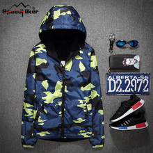 Speed Hiker 2017 New men's jacket Camouflage both sides wear Spring/Autumn outside jacket coat Jaqueta Masculina  WBLS316