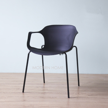 Modern Design Dining Arm Chair, Fashion Loft popular nice design modern home furniture chair, computer study leisure chair 1PC(China)
