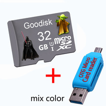 Goodisk Micro SD Card 8GB/16GB Memory Card Mini SD cards 32GB 64GB Class10 micro sd 128 gb flash card + gift(China)