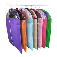 AYH100% Good Coat Clothes Garment Suit Cover Bags Dustproof Hanger Storage Protector Travel Storage Organizer Case 60 x 90cm (S)(China)