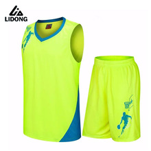 2016 basketball clothes set male basketball jersey basketball clothing adult paragraph Training Suit Custom Name Number