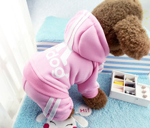 2016 New Pet Clothes Cat Dog Costume Four Leg Jumpsuit Clothing for Small Pets Free shipping
