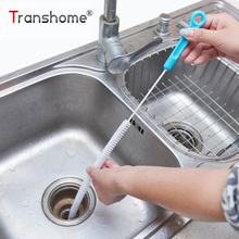1Pcs Creative Bendable Sewer Cleaning Brush Sink Tub Toilet Dredge Cleaner Pipe Snake Brush Tool Cleaning Tools(China)