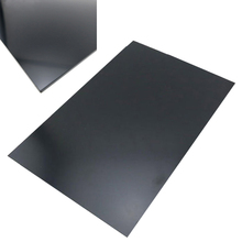 1pc Pratical ABS Styrene Plastic Flat Sheet Plate 1mm x 200mm x 300mm Black For Industry Tools