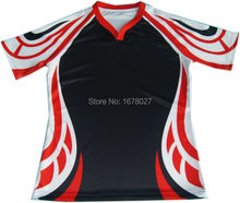 2016 new design breathable quick dry rugby jersey for club