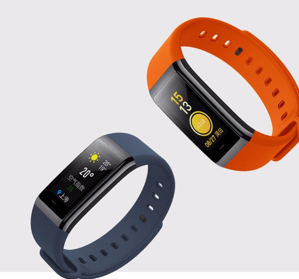 Original Huami Amazfit Cor Smart Bracelet MiDong band English Version Waterproof IPS 316L Stainless Steel Frame For Android IOS-14