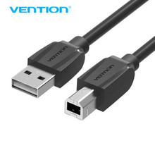 Vention High Speed USB 2.0 Type A to B Male to Male Scanner Printer Cable Sync Data Charging Cord 1m 1.5m 2m 3m 5m(China)