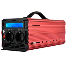 universal inverter DC24v to AC 220v 2000W(Peak 4000W) pure sine wave power inverter with LCD digital display