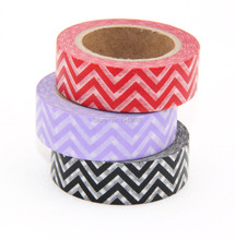 New 3X washi tape Wave point masking tapes Scrapbooking stickers articulos de papeleria School supplies