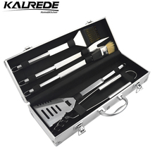KALREDE Stainless Steel BBQ Grill Tools Set & Accessories -Aluminium Carry Case--Outdoor Cooking Accessories