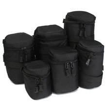 Professional Waterproof Protective Camera Lens Bag Case Cover Pouch Protector For Canon For Nikon digital camera Black(China)