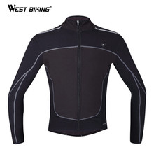 Buy WEST BIKING Winter Cycling Clothing Windproof Thermal Fleece Warm Jacket Sports Ropa Ciclismo MTB Bike Bicycle Cycling Jersey for $64.96 in AliExpress store