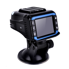 "Low price 2.4"" TFT Laser Anti Radar detector 2 in1 Car dvr camera 150 degree lens 1280x720P (Russian+English) version"