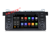 factory price! Android 6.0 Quad core car dvd PC player for BMW 3series E46 M3 with Wifi 1024*600 screen BT Radio Steering wheel