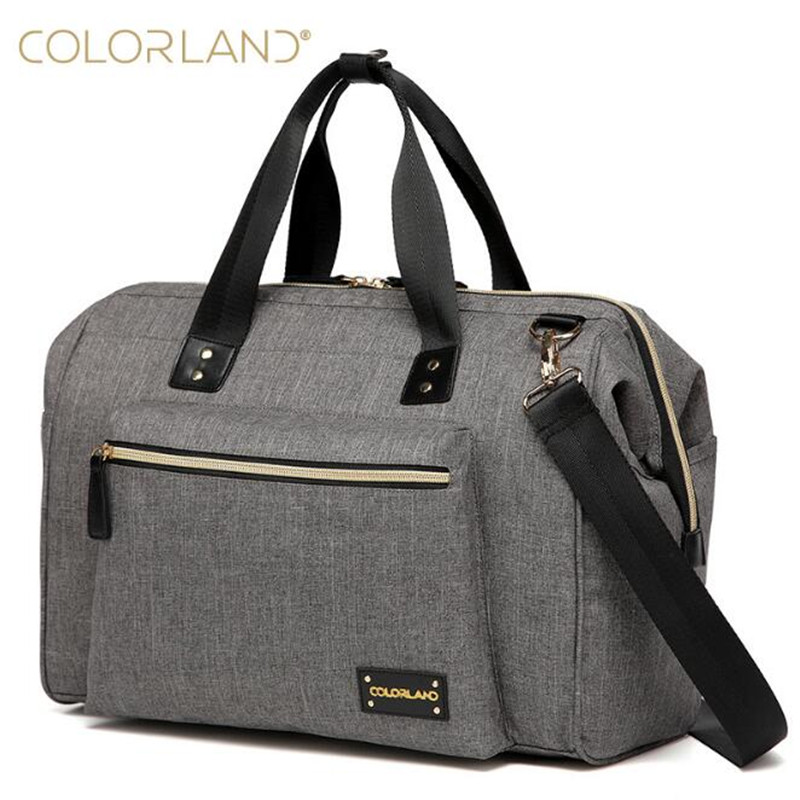Colorland large diaper bag organizer nappy bags maternity bags for mother baby bag stroller diaper handbag bolsa maternidade<br>