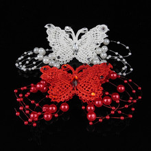 2Pcs/Style Women Hair Accessories Sweet Rhinestone Feather Butterfly Hairpins Hair Barrette Girls