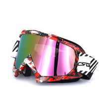 2016 MX Adult Enemy Goggles Solid Motocross ATV Dirt Bike UTV Dirtbike Motocross Goggles Accessories(China)