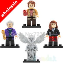 Single Wholesale 20pcs Doctor Who Figure Clara Oswald Dr Assistant Weeping Angel Building Blocks Set Model Toys for children(China)