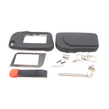 A93 Uncut case with glass for Starline A93 A63 uncut blade fob case cover A93 folding car flip remote free shipping
