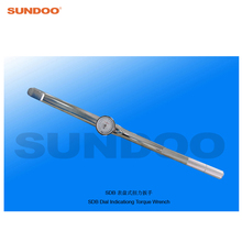 Sundoo SDB-500 100-500N.m Handheld Dial Indicating Torque Wrench Tester