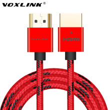 VOXLINK HDMI Cable 3FT/6FT/10FT Ultra High Speed Male to Male HDMI Cable with Ethernet 1080P HDMI 1.4 4K 3D for PS3 BLURAY XBOX(China)
