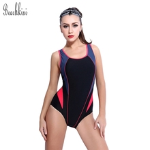 Buy TRIKINI Athletic 2017 New 1 Piece Swimsuit Women Bodysuit Beach Wear Patchwork Swimwear Bathing Suit Monokinis for $18.70 in AliExpress store