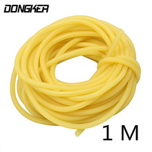 1m Natural Latex Slingshots Rubber Tube For Hunting Shooting Bow Band Catapult Elastic Part Fitness Bungee Equipment Tool #