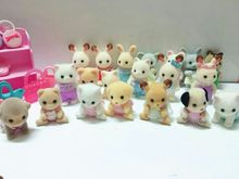 wholesale japanese original sylvanian families baby Hedgehog Gophers squirrel dog doll kids toys for children girls gift