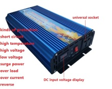 5000w Peak power inverter rated power 2500W DC12V TO AC220V 50HZ or DC12V to AC110V 60hz pure sine wave Power Inverter(China)