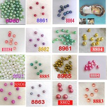 10 PCS free shipping Love wish pearl oyster  6.5-7.5mm  Green, Purple, Red   colored  pearl in oyster with vacuum-packed  02