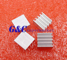 20pcs Aluminum 8.8x8.8x5MM Heat Sink for StepStick A4988 Chip IC LED Power(China)
