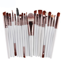 Excellent Quality 20pcs/set  Makeup Brush Set tools Make-up Toiletry Kit Wool Make Up Brush Set saco de cosmtica Anne