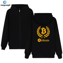 Buy Bitcoin Cryptograrhy Trust Hoodies Zipper Men Women Casual Dress Brand Plus Size Virtual Currency Hoodie Sweatshirt for $13.43 in AliExpress store