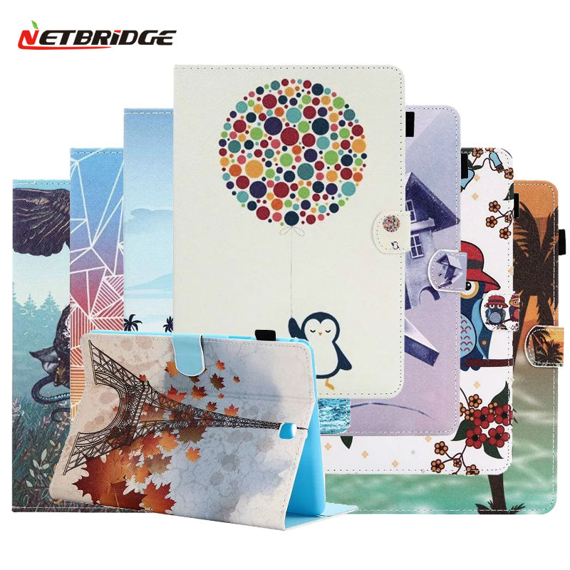 Tablet Case For Samsung Galaxy Tab A 9.7 T550 SM-T550 SM-T551 SM-T555 PU Leather Folding Folio Pad Cover Shell Cartoon Anime<br><br>Aliexpress