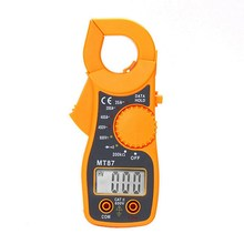 Buy 1 Set MT87 LCD Digital Clamp Multimeter Electronic Diagnostic-tool Voltage Tester AC/DC Transistor Meter Tool 2 Test Cables for $6.90 in AliExpress store