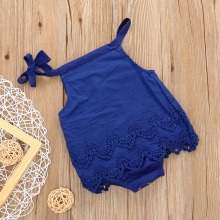 Baby Short sleeved Summer Infant coveralls climbing clothes baby girls children's clothing cotton skirt Triangle pants