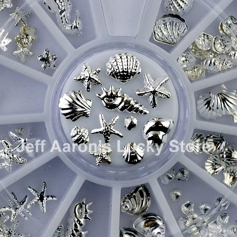 20PCS Beauty Egyptian Style Gold Nail Charms 3D Metal Nail Art ...
