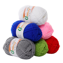 20pcs Cotton Knitting Yarn Crochet Yarn for Knitting Anti-Static Soft Cheap Yarn Factory Price for Sale Free Shipping
