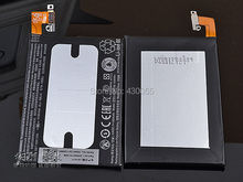 100% New Original 1800mAh Cell Phone Battery Li-ion Battery For HTC one mini M4 601e With Logo,Free ship