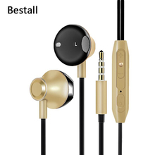 Bestall In-Ear Ear Phones Earbuds Casque Sport Earphones Headset With microphone For iPhone Xiaomi Samsung S8 Plus(China)