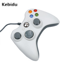 Kebidu Game Controller USB Wired Joypad Gamepad Controller For Microsoft Gamepad for PC for Windows7 Joystick Not for 360 Xbox
