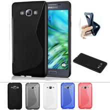 Soft TPU Silicone Rubber Transparent Cover Case For Samsung Galaxy J3 2016 j320 Cases Skin