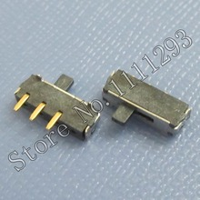 10pcs/lot Horizontal Right Slide Switch 3Pin SMD for Latop Tablet etc Bluetooth / WLAN / Power Reset Switch(China)