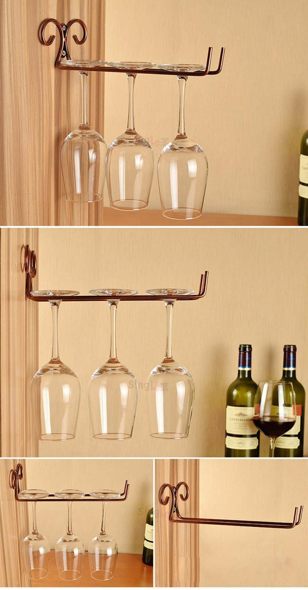 Hanging-Metal-Wine-Cup-Rack-SilverGold-Bar-SingleDouble-Rack-Wine-Stemware-Glass-Bottle-Goblet-Inverted-Holder-KC0026 (7)