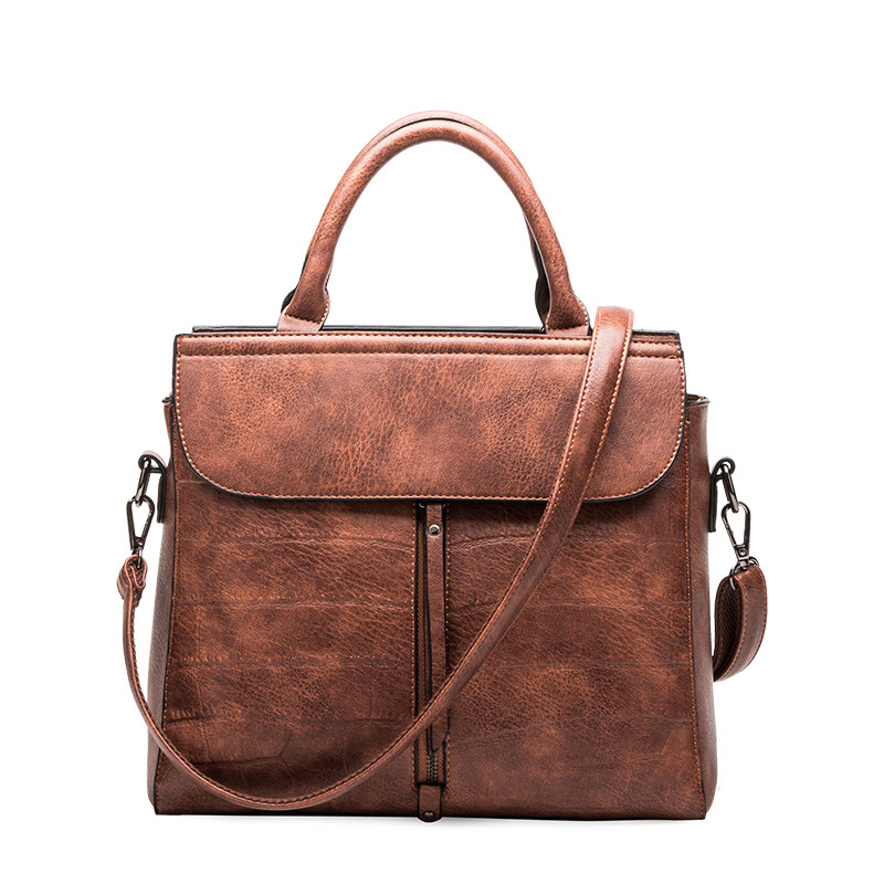 Womens Genuine Leather Handbags Big Size Luxury Handbags Vintage OL Women Bags Women Messenger Bags Shoulder Bag Bolsas<br>