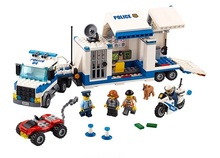 children toy CHINA BRAND 02017 self-locking bricks Compatible with Lego City Police Mobile Command Center 60139(China)