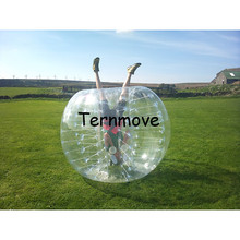 china football soccer ball Free shipping inflatable bubble soccer suit,bubble ball suit,pvc/TPUhuman sized hamster ball for sale(China)